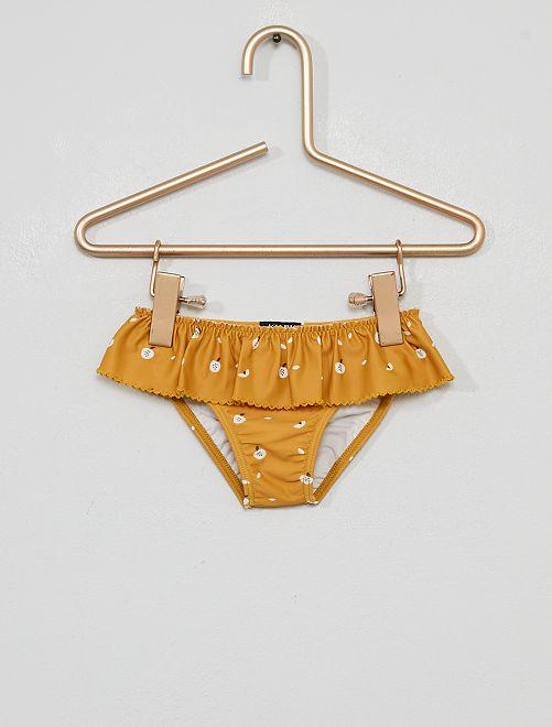 Culotte de bain                             jaune