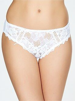Culotte, shorty, string taille 46/48 - Culotte dentelle 'Sans Complexe'