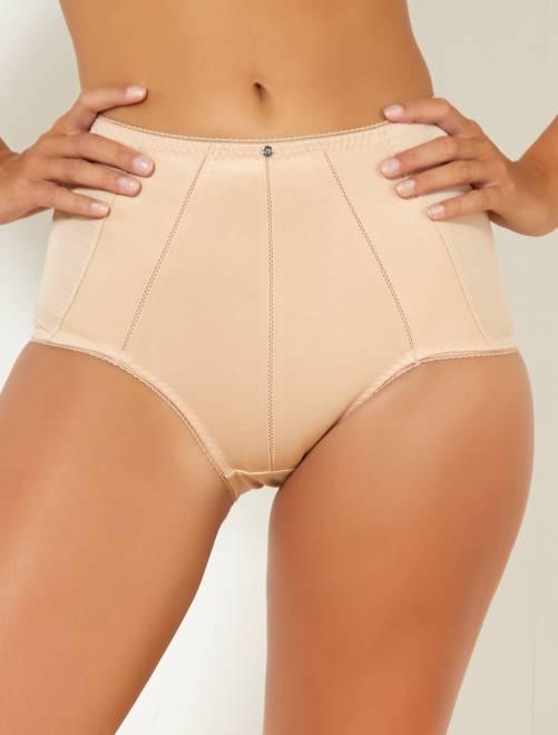 Culotte gainante en micro 'Bestform'                                         beige Lingerie du s au xxl