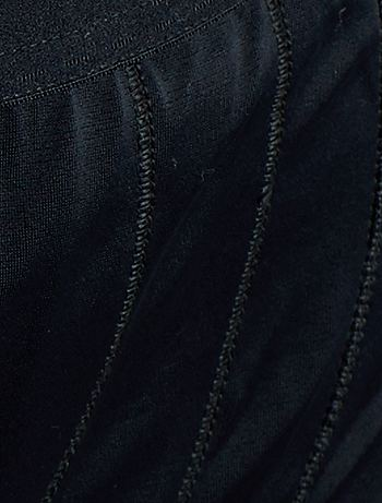 culotte gainante maxi perfect lift 39 sans complexe 39 lingerie du s au xxl noir kiabi 14 00. Black Bedroom Furniture Sets. Home Design Ideas