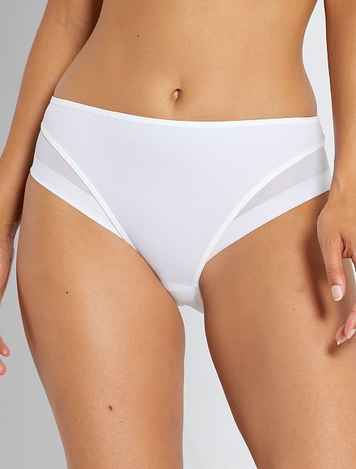 Culotte Generous 'DIM'                                                                 blanc
