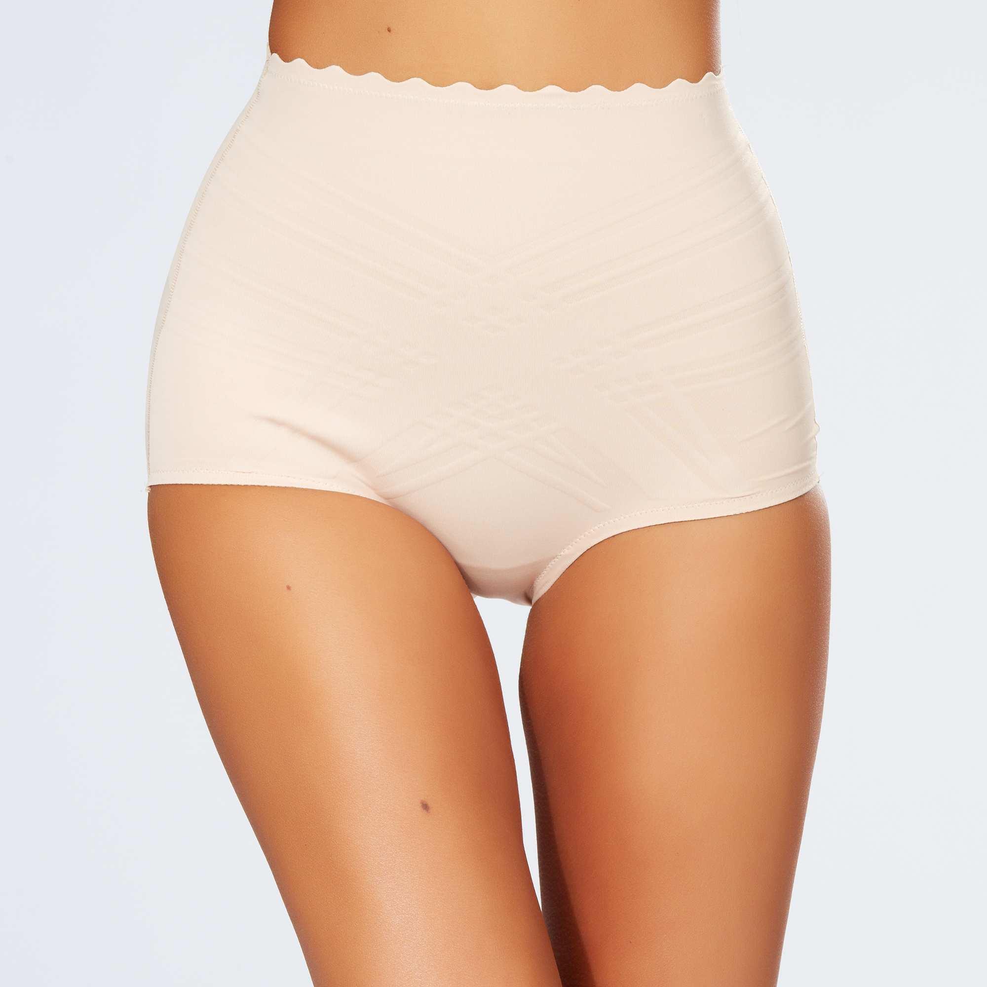 Couleur : noir, chair, ,, - Taille : 40, 50, 44,38,48Optez pour un confort moderne avec cette culotte haute gainante 'Dim Beauty List' ! -