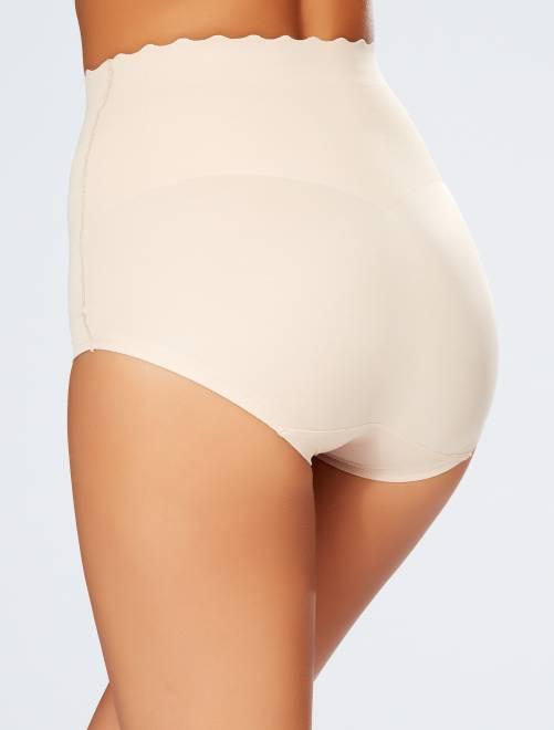 culotte haute gainante 39 dim beauty lift 39 lingerie du s au xxl kiabi 20 00. Black Bedroom Furniture Sets. Home Design Ideas