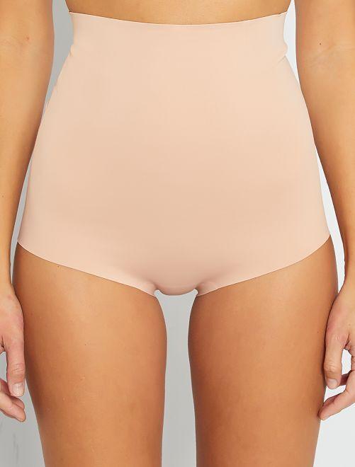 Culotte haute sculptante 'Sans Complexe'                                         beige