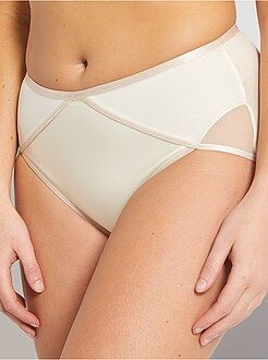 Culotte, shorty, string beige - Culotte midi Ideal Beauty 'Playtex'