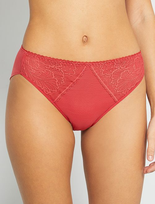 Culotte 'Sans Complexe'                                         rouge