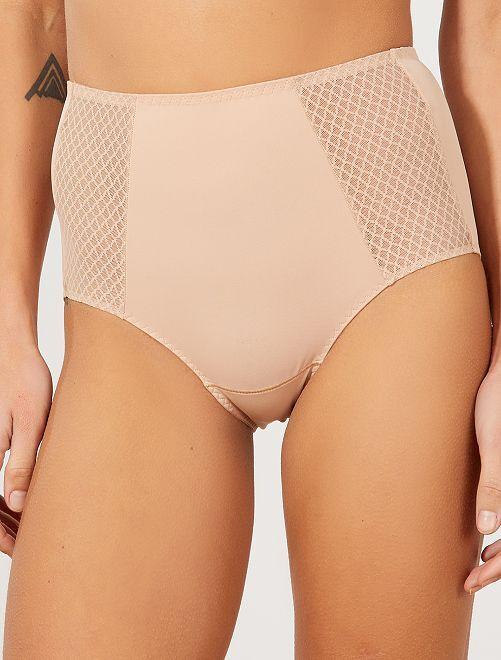 Culotte ventre plat 'DIM'                             beige