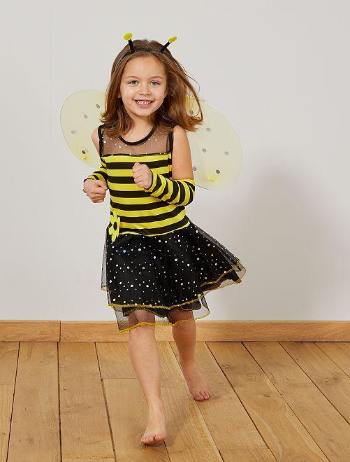 Déguisement abeille fille                             jaune