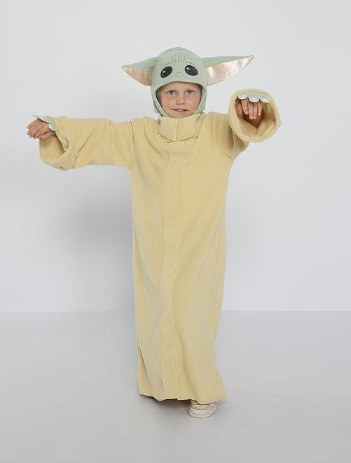 Déguisement Baby Yoda'                             beige/vert