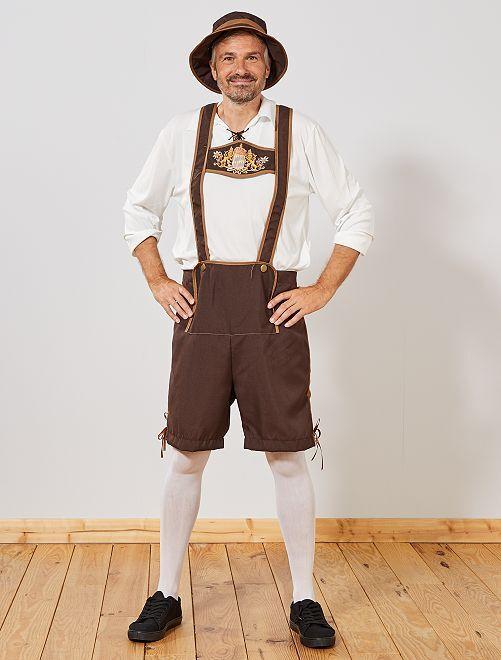 Déguisement bavarois                             marron