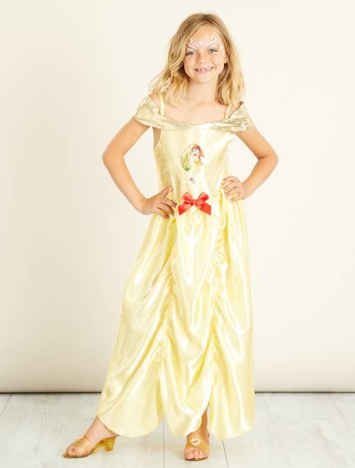 Déguisement 'Belle' de 'La Belle et la Bête'                             jaune