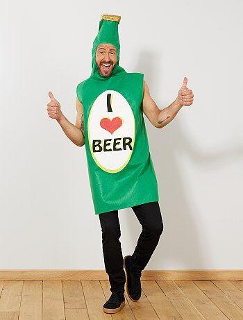 Déguisement bouteille de bière