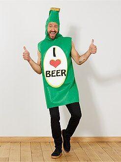 Homme Déguisement bouteille de bière