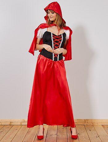 Femme - Déguisement Chaperon Rouge femme - Kiabi