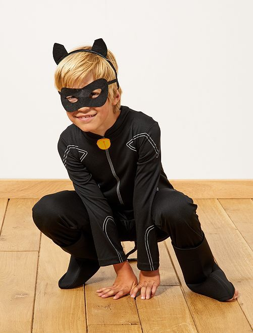 Déguisement 'Chat noir' de 'Miraculous'                             noir Enfant