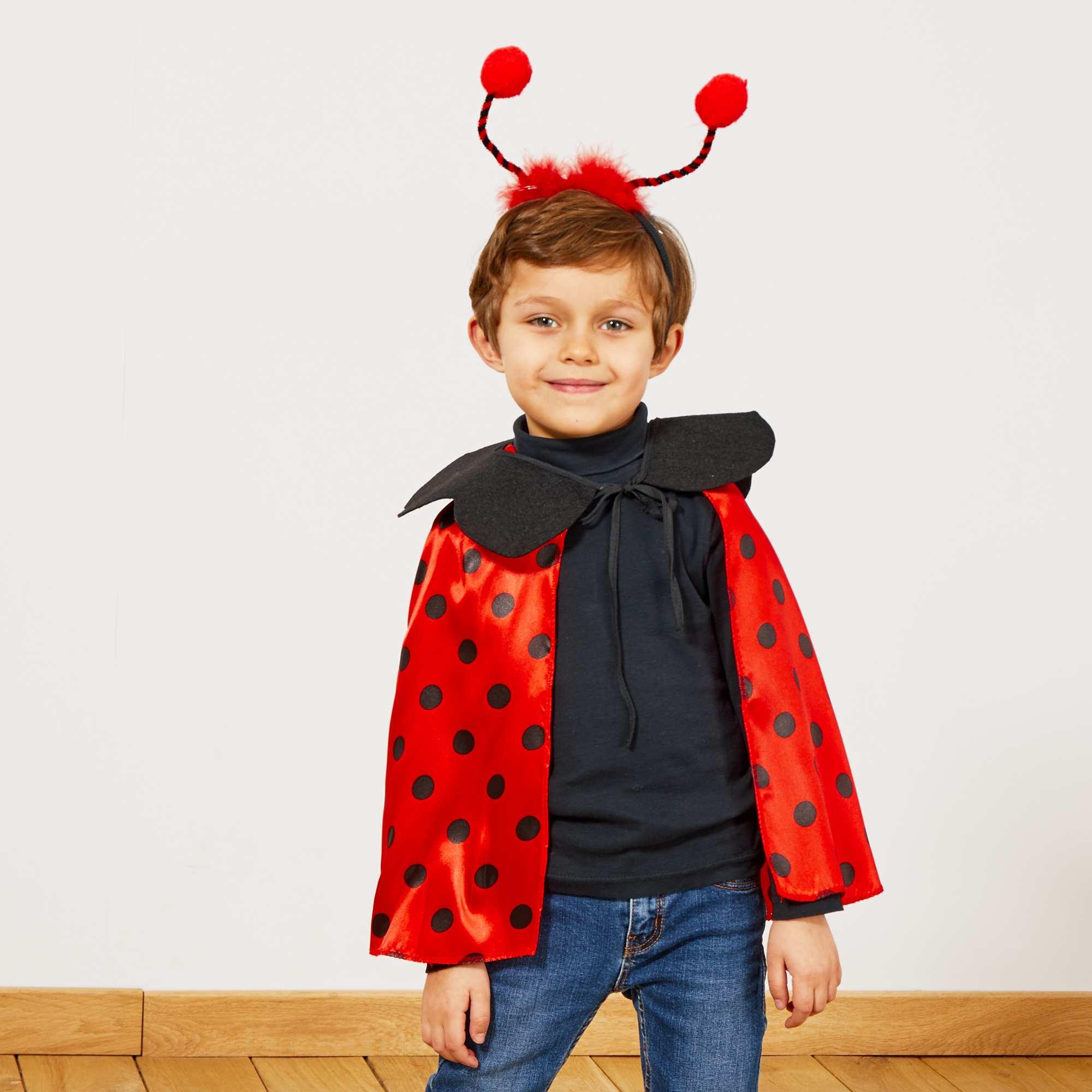 d guisement coccinelle enfant rouge noir kiabi 9 00. Black Bedroom Furniture Sets. Home Design Ideas