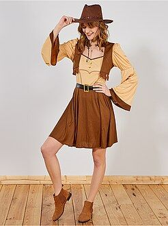 Déguisement Cowboy Femme - Kiabi
