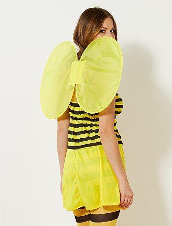 d guisement d 39 abeille femme jaune noir kiabi 15 00. Black Bedroom Furniture Sets. Home Design Ideas