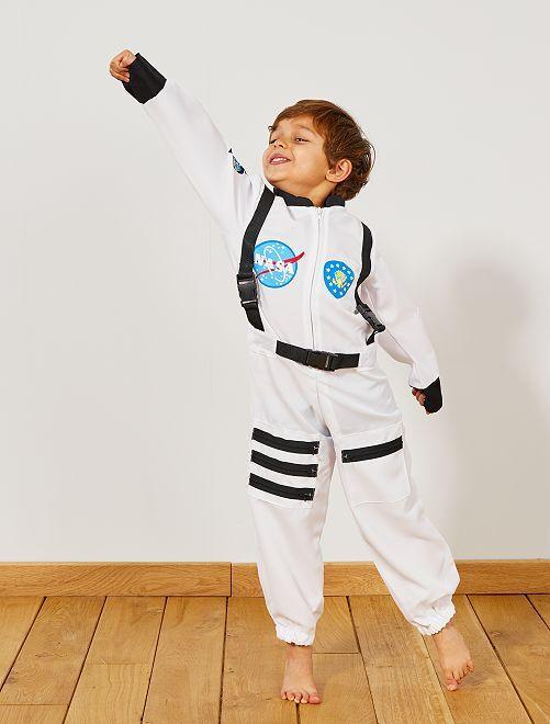 Déguisement d'astronaute                             blanc Enfant