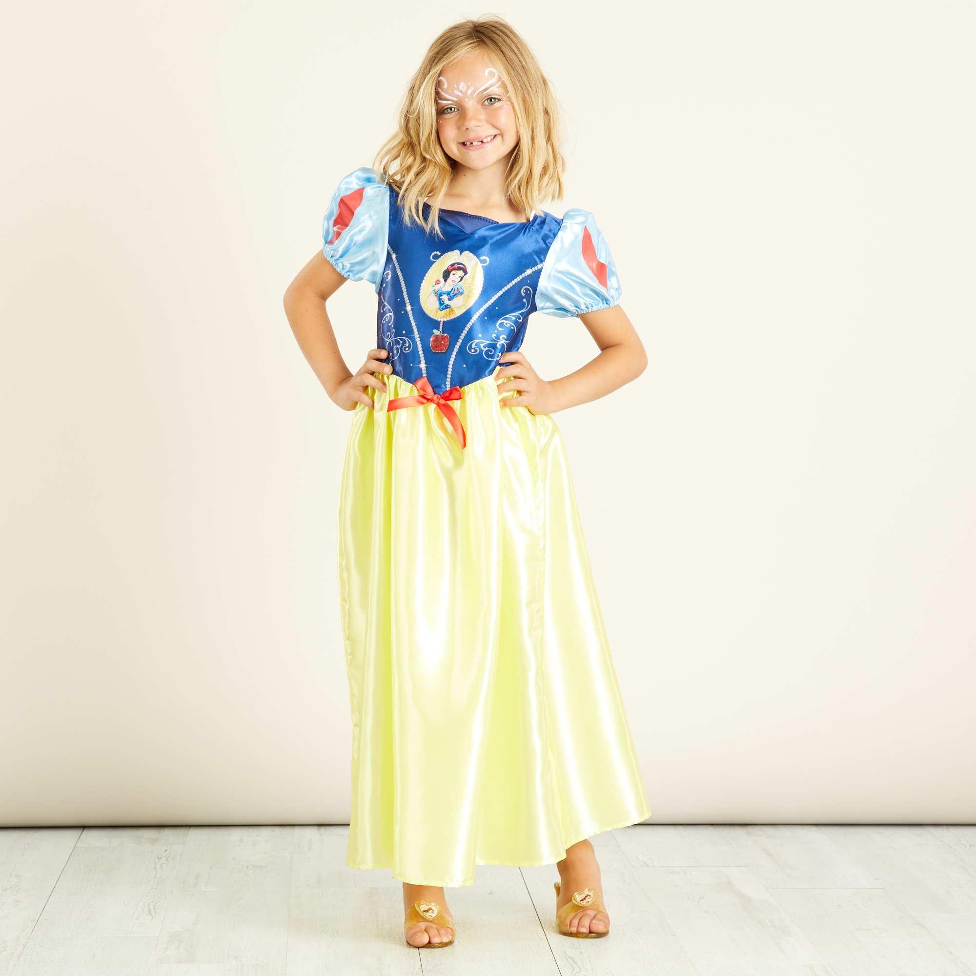 D guisement de 39 blanche neige 39 enfant jaune kiabi 25 00 - La princesse blanche neige ...
