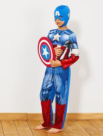Enfant - Déguisement de 'Captain America' - Kiabi