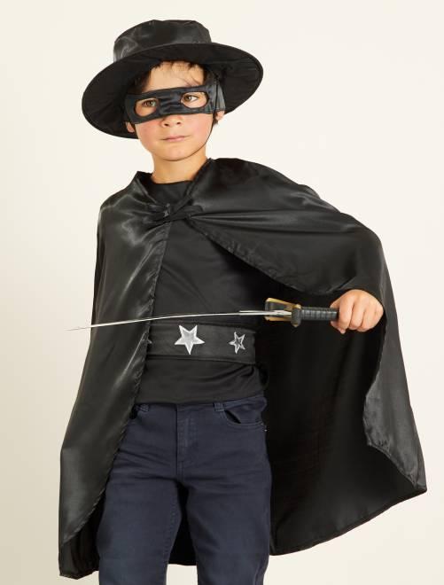 Déguisement de cavalier noir                             noir Enfant