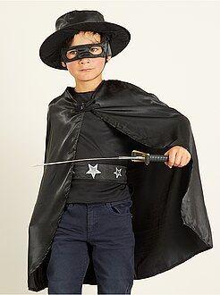 Enfant - Déguisement de cavalier noir - Kiabi