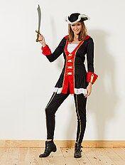 Costume De Pirate Deguisement Femme Kiabi