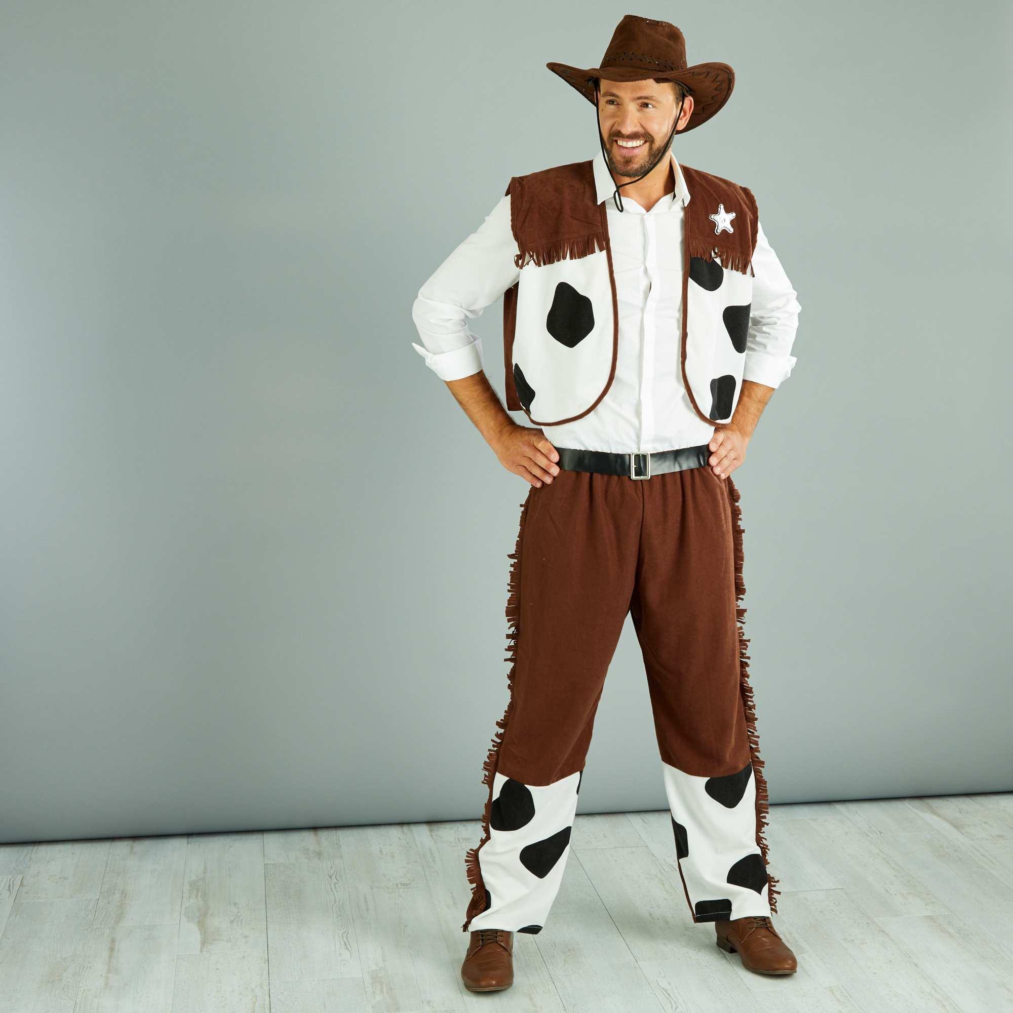 D guisement de cow boy homme kiabi 20 00 - Deguisement western homme ...