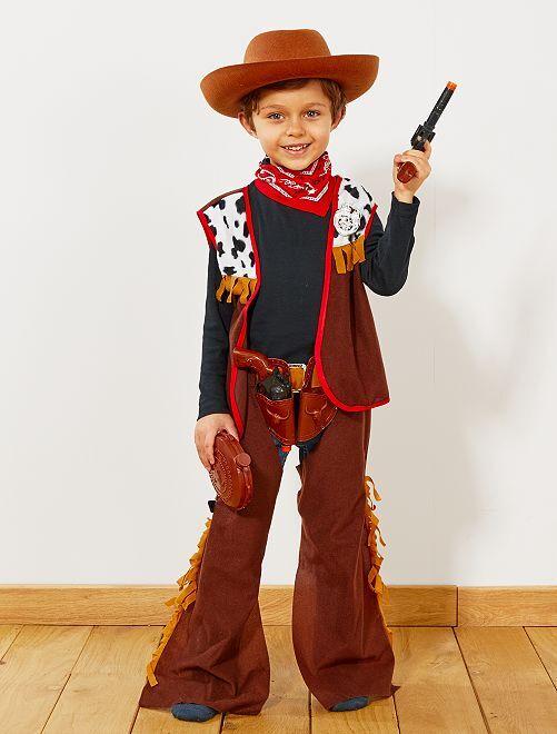 Déguisement de cowboy                             marron Enfant