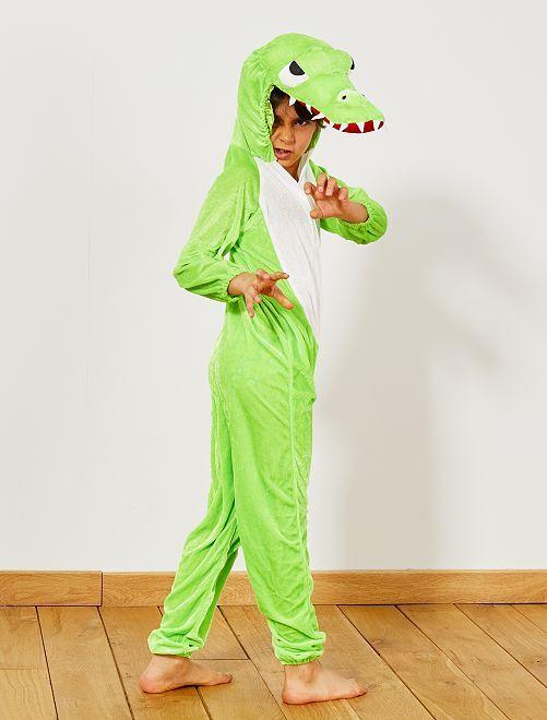 Déguisement de crocodile                             vert