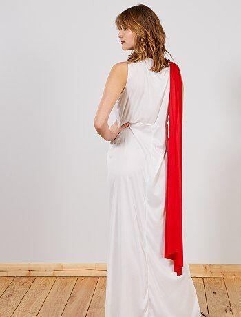 Favorit Déguisement de Déesse Femme - blanc/rouge - Kiabi - 19,00€ YJ18