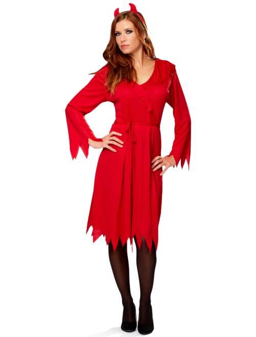 Déguisement de diablesse rouge Femme
