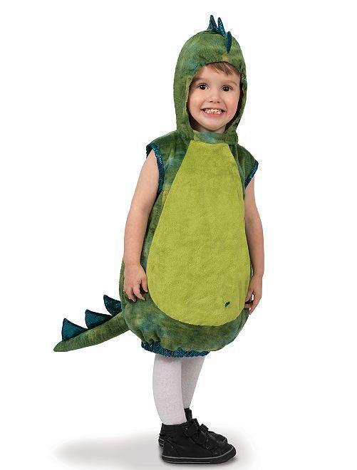 Déguisement de dinosaure                             vert