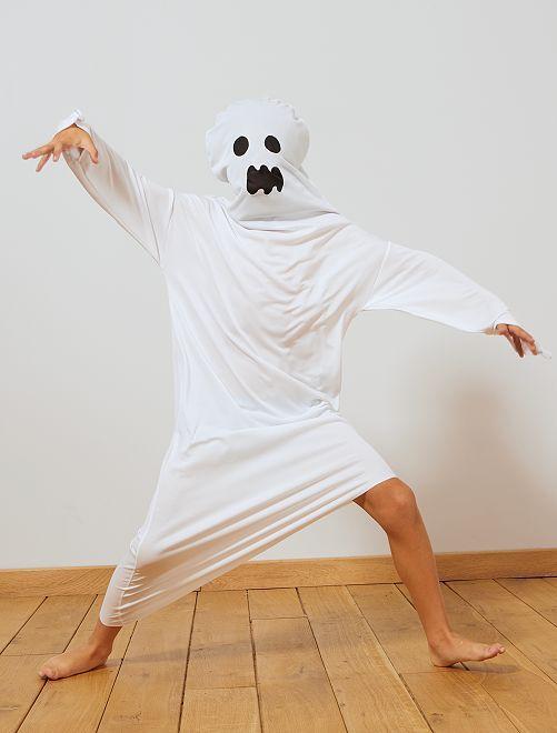 Déguisement de fantôme                             blanc