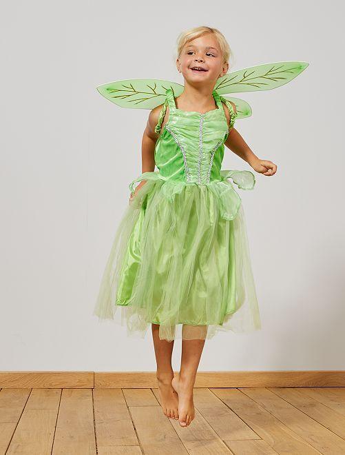 Déguisement de fée                             vert Enfant
