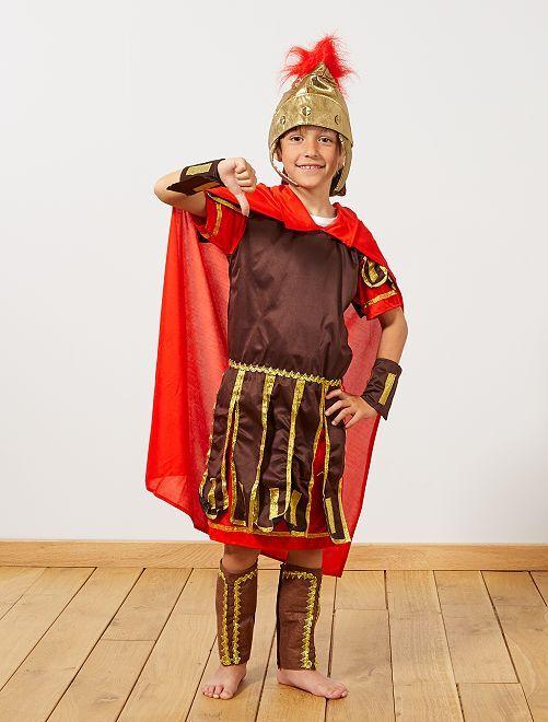 Déguisement de gladiateur romain                             marron/rouge