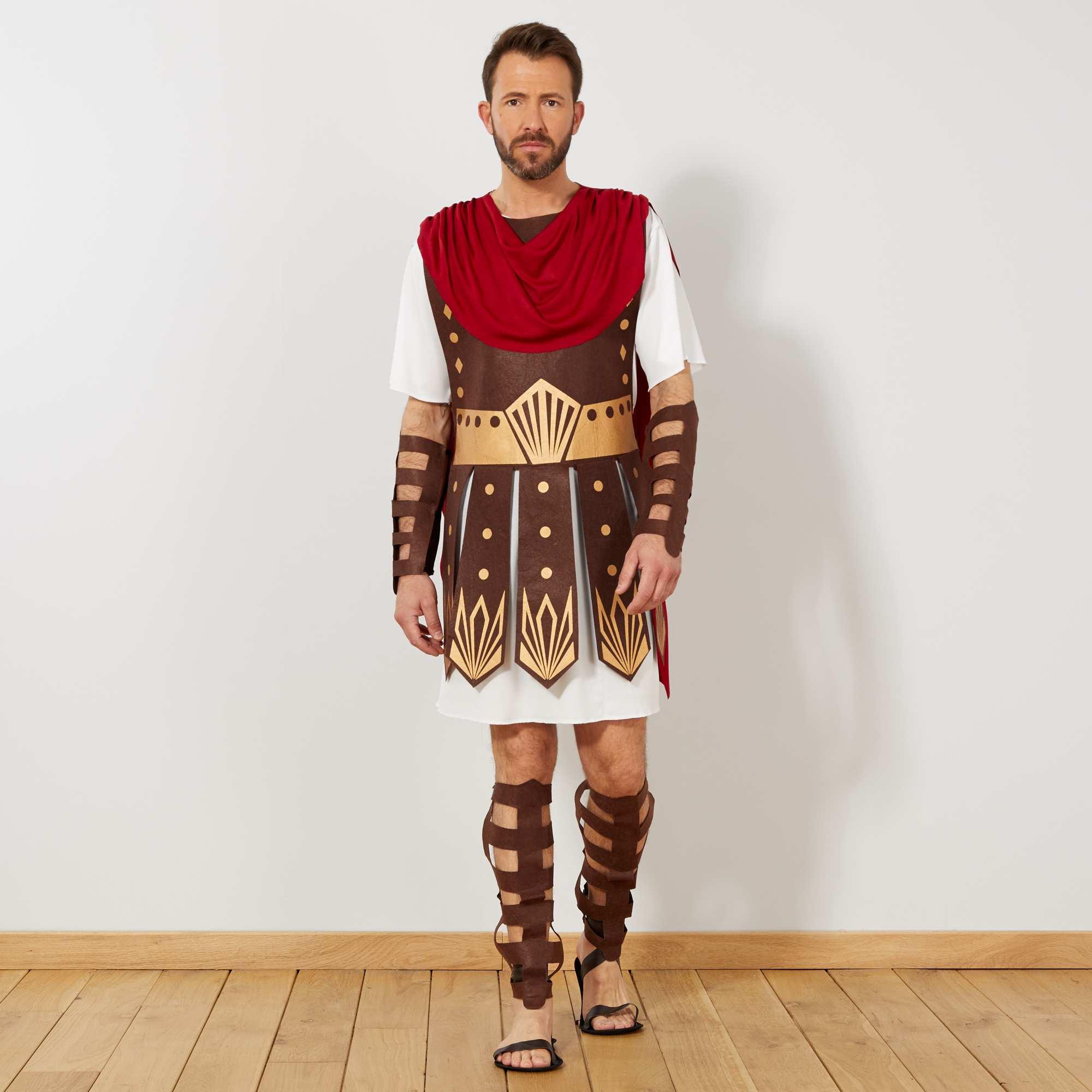 d guisement de gladiateur homme rouge blanc kiabi 25 00. Black Bedroom Furniture Sets. Home Design Ideas