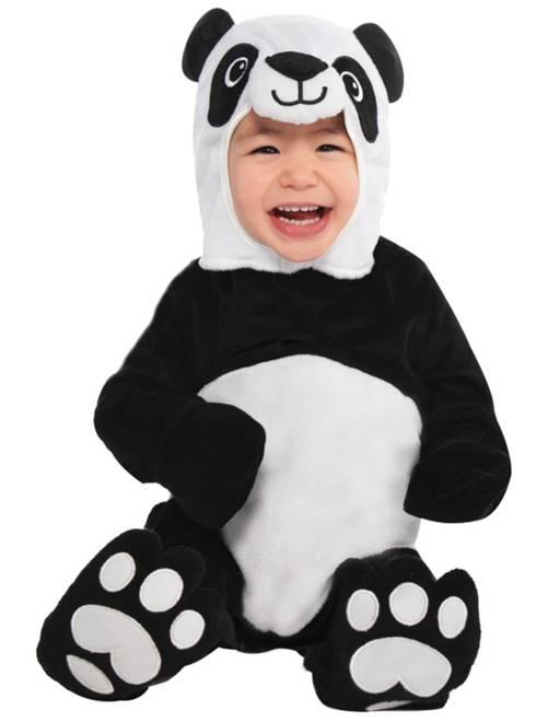 Déguisement de panda                             noir/blanc
