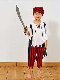 Déguisement enfant - Déguisement de pirate - Kiabi