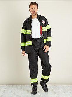 Déguisement homme - Déguisement de pompier - Kiabi