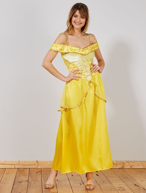 Déguisement de princesse                             jaune