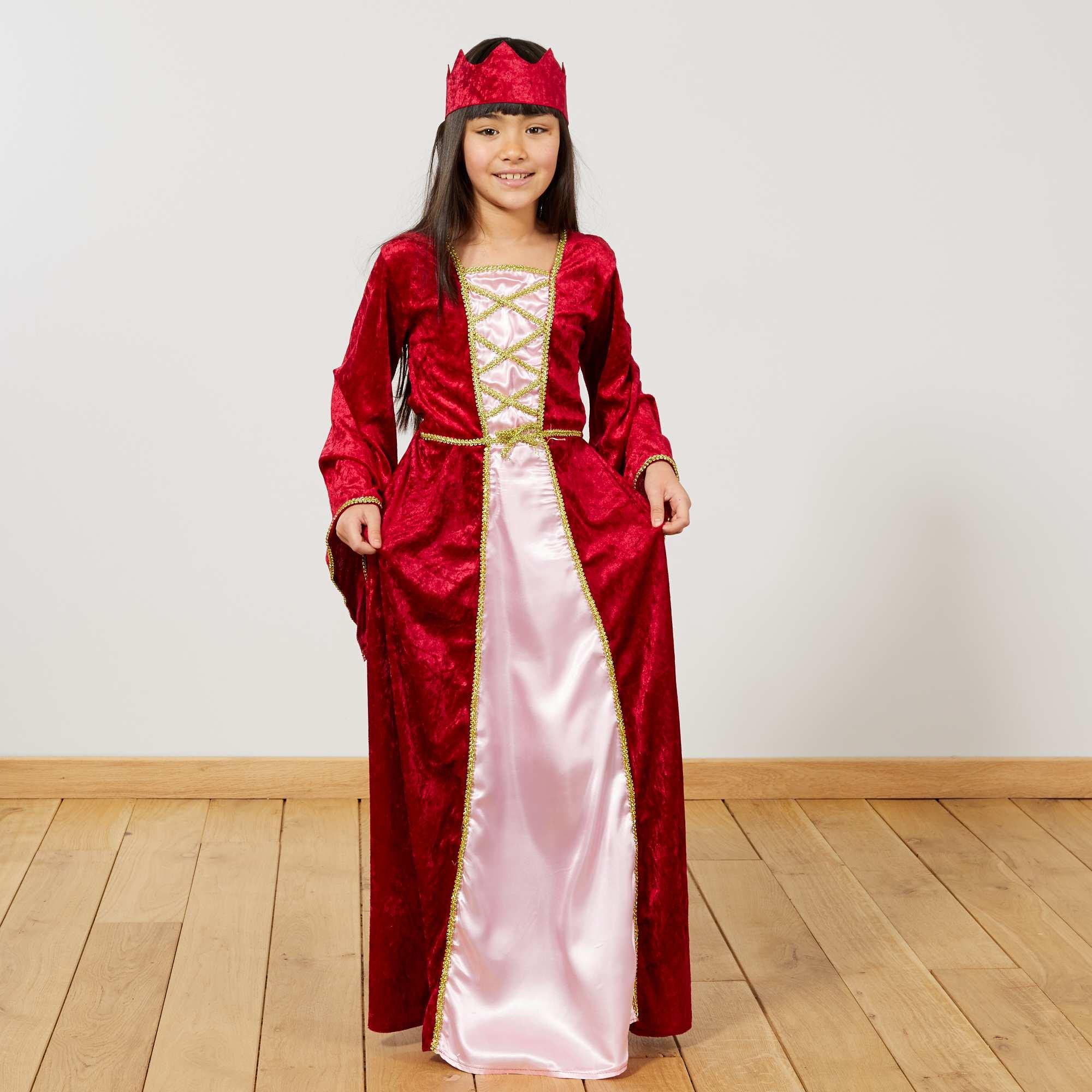 deguisement fille medieval