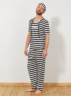 Homme Déguisement de Prisonnier