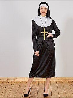 Déguisement femme - Déguisement de Religieuse - Kiabi