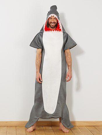 Homme - Déguisement de requin - Kiabi