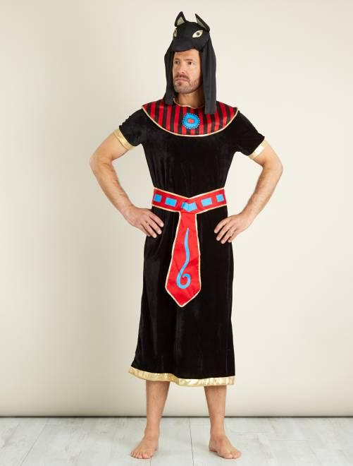 Déguisement de roi égyptien                             noir