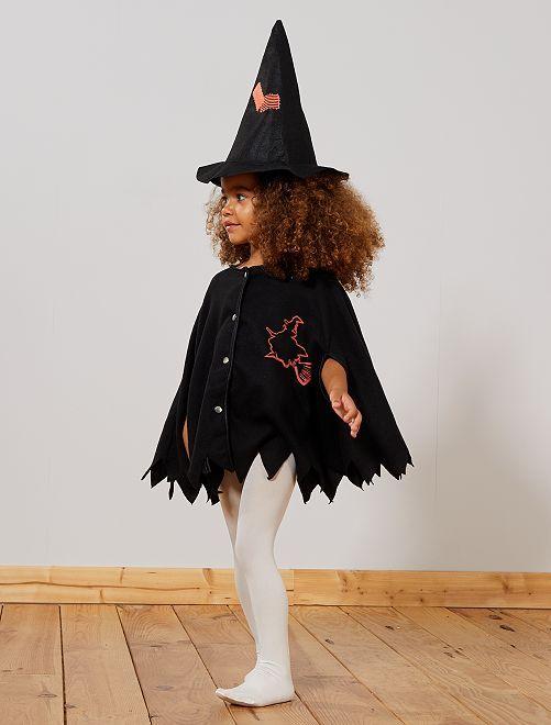 Déguisement de sorcière                             noir
