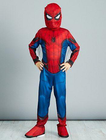 Enfant - Déguisement de 'Spider-Man' - Kiabi