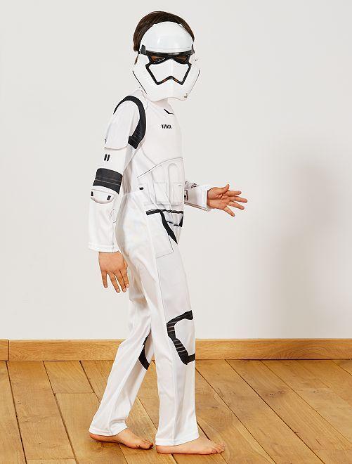 Déguisement de 'Stormtrooper'                             blanc